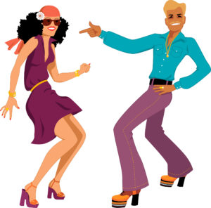 Couple Dancing Rock & Roll